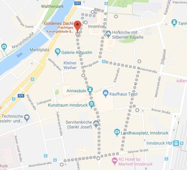 Innsbruck itinerary