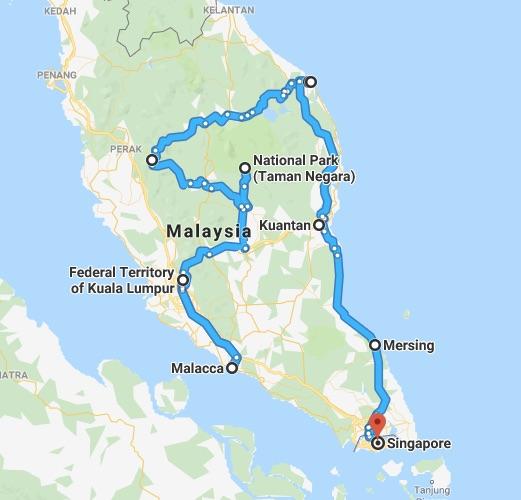 Malaysia itinerary