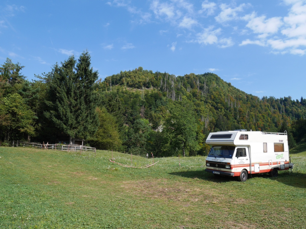 Slovenia campervan