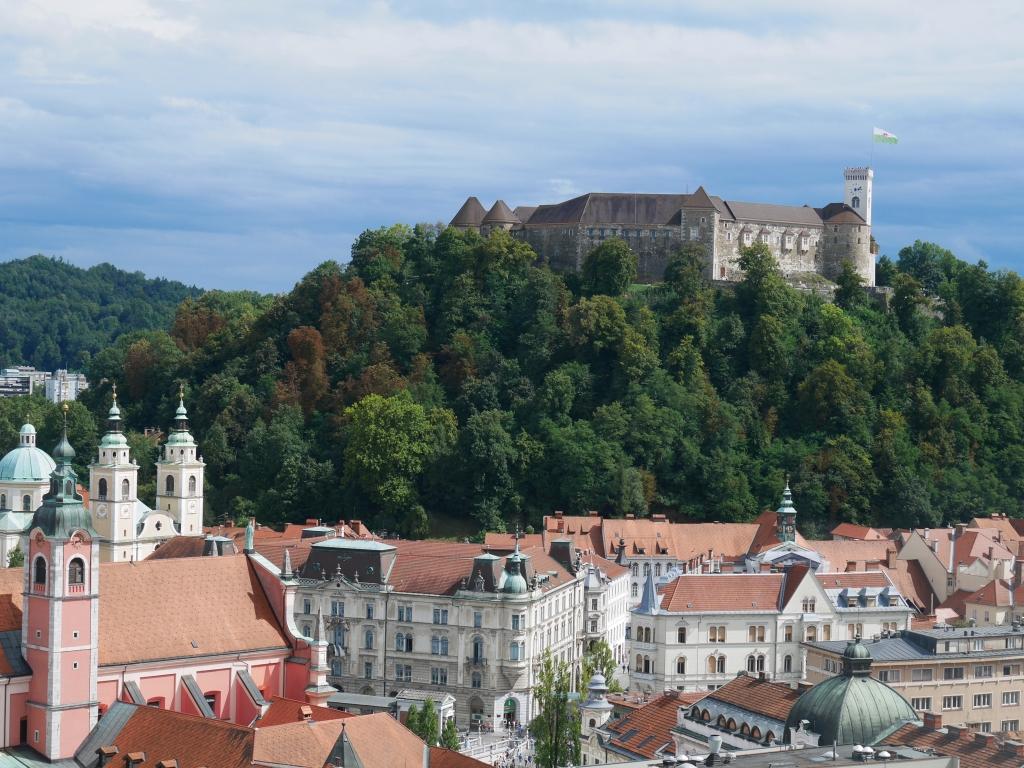 Slovenia Ljubiljana castle
