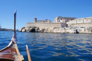 Malta Valetta Boat