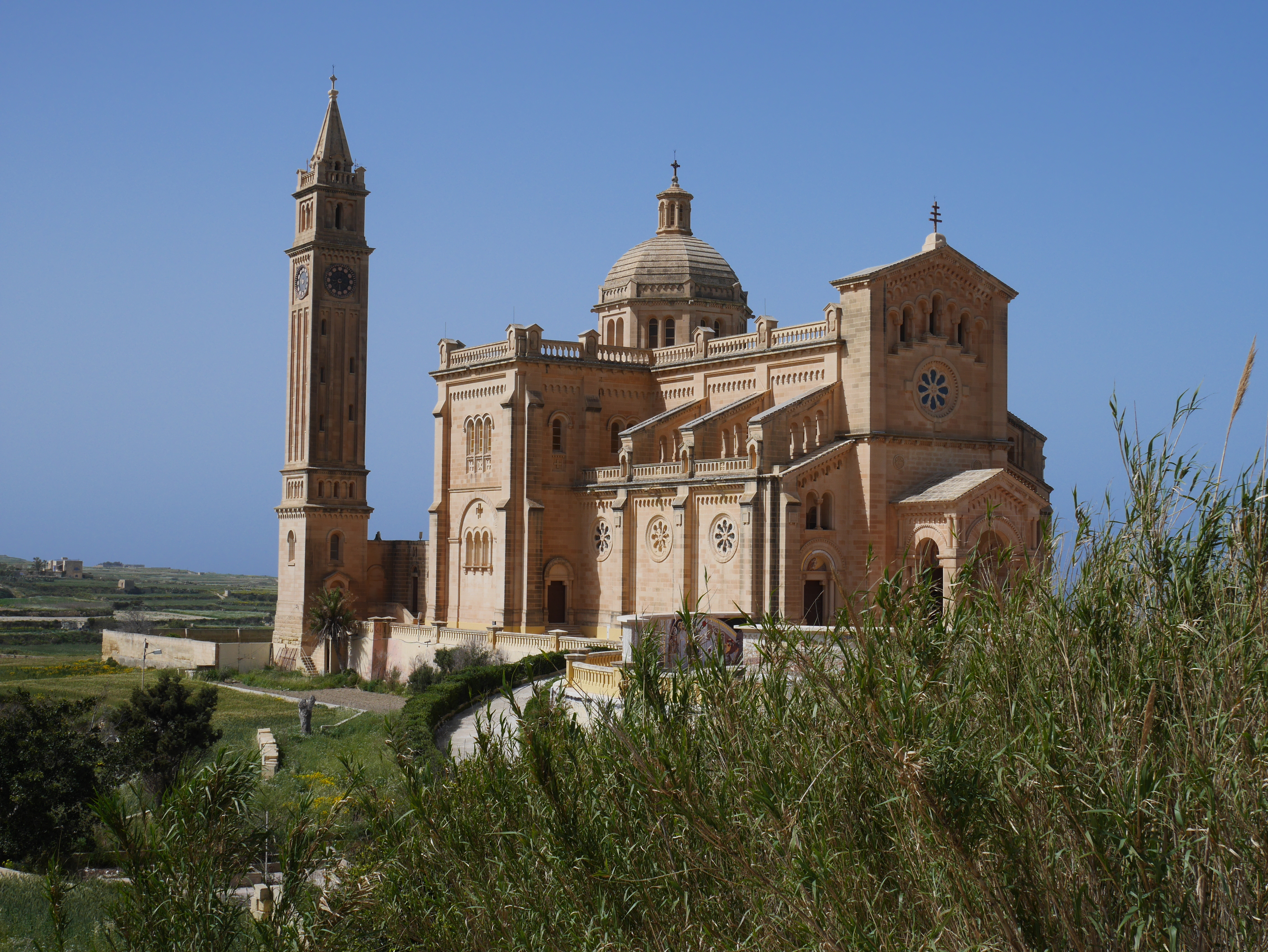 Malta Gozo cathedral