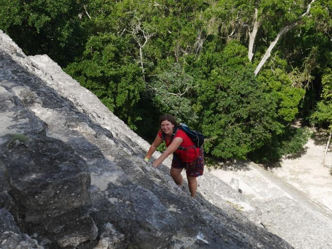 Calakmul climbing