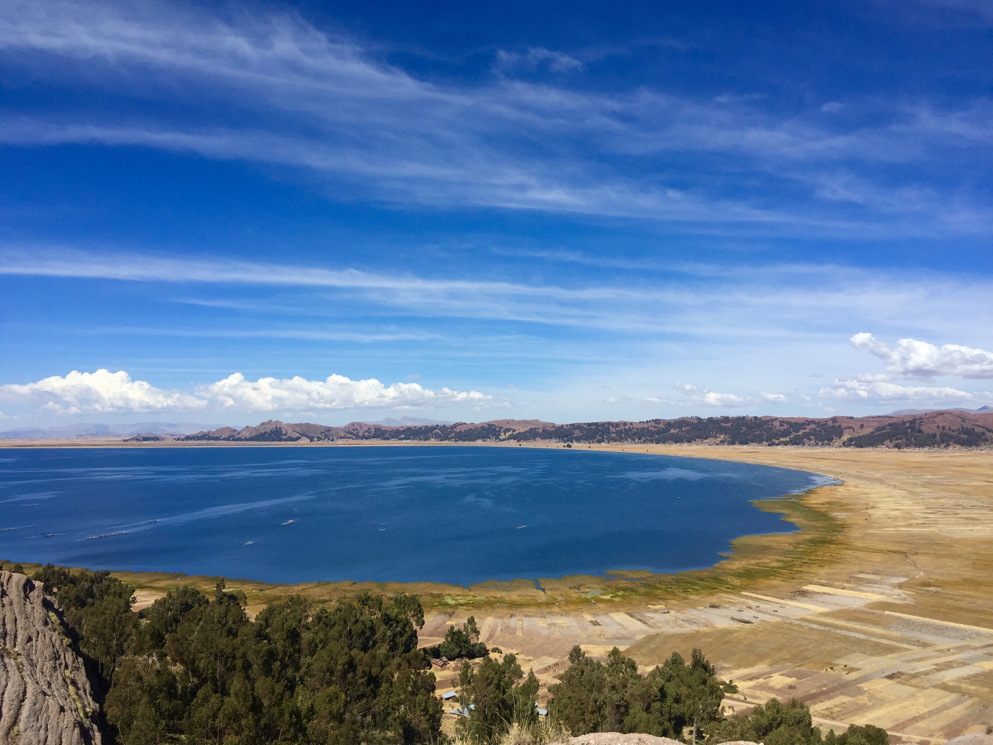 Lake Titicaca panorama