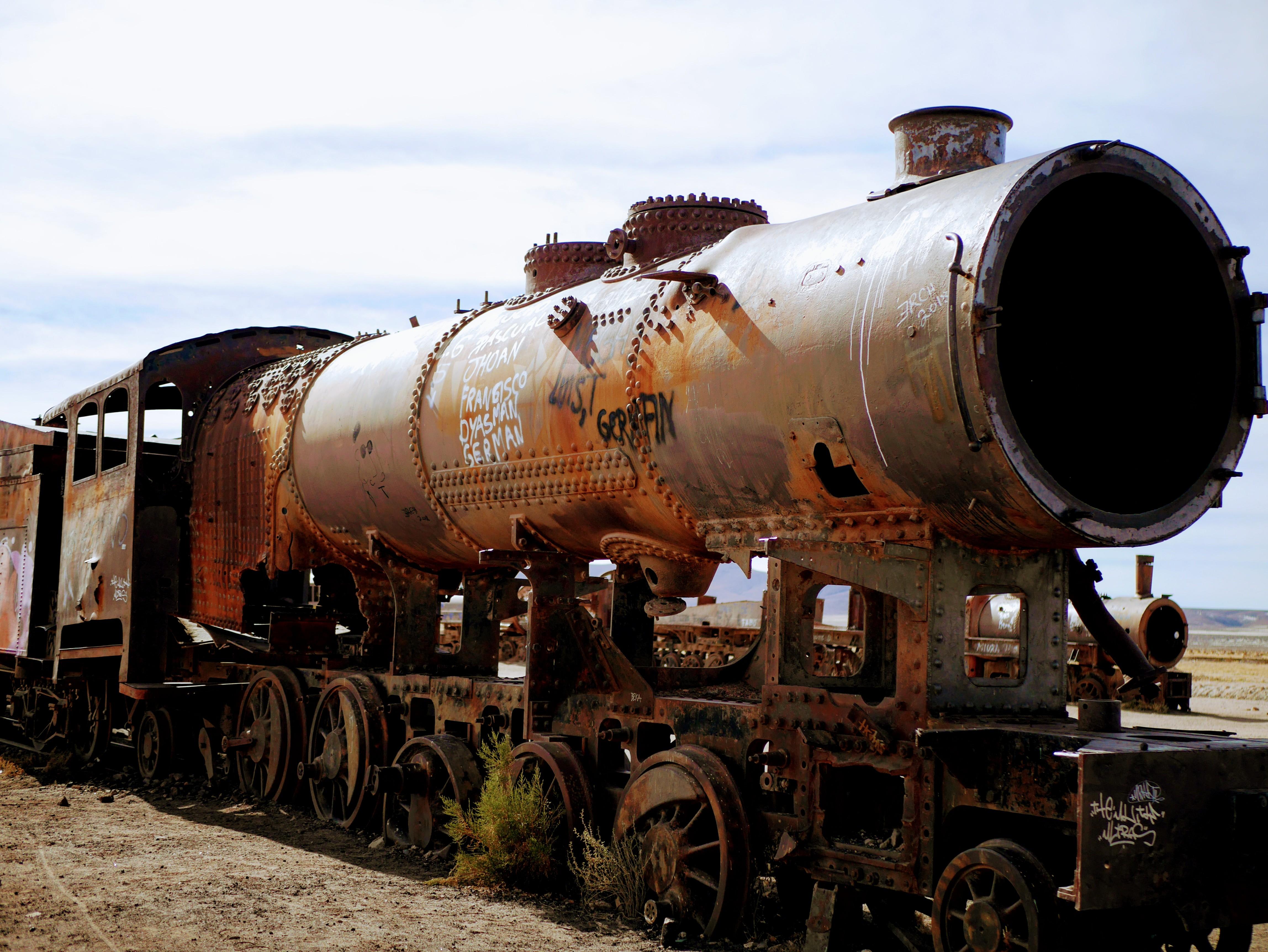 Salar de Uyuni Train Cementery