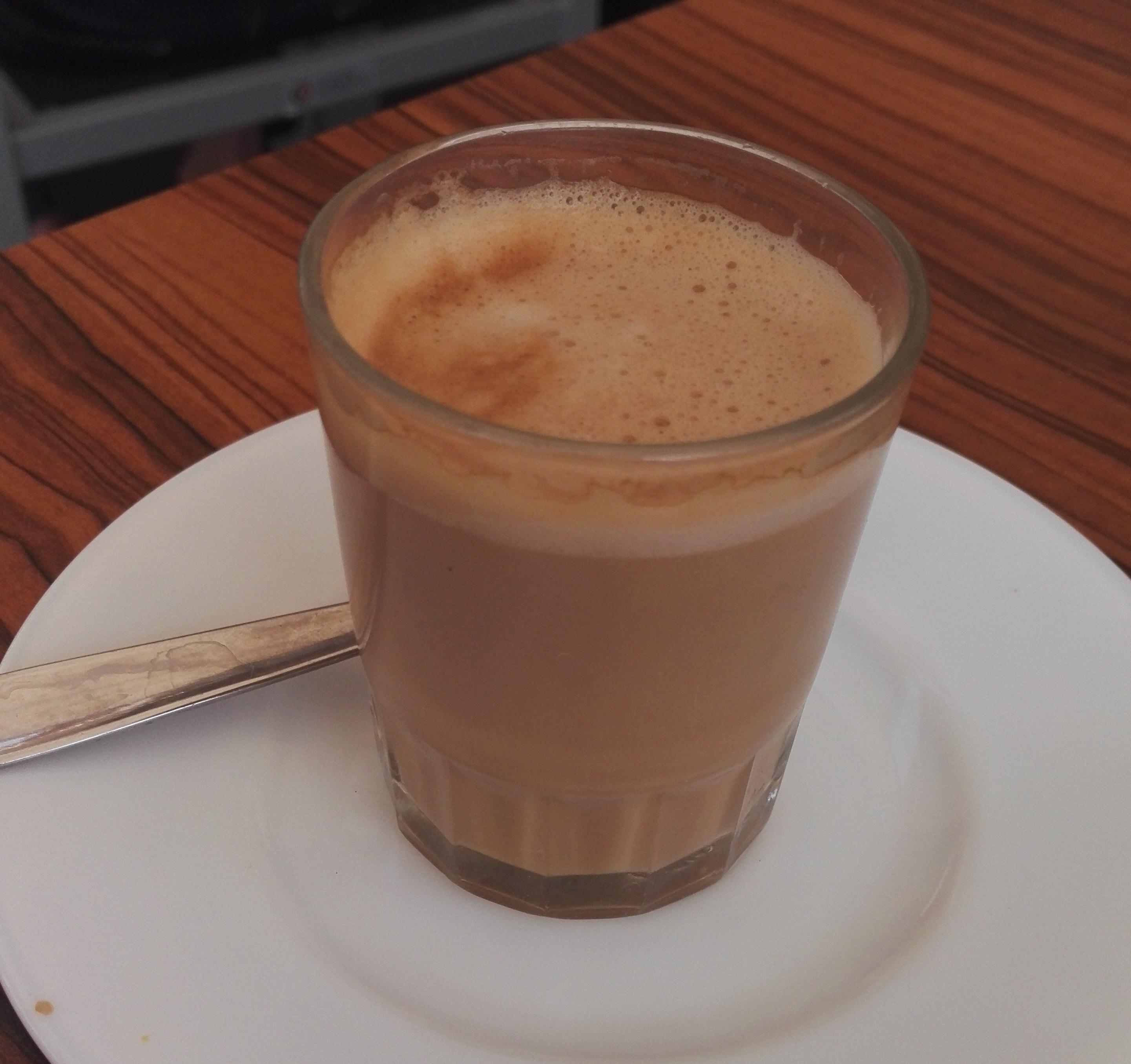 Canarian coffee cortado