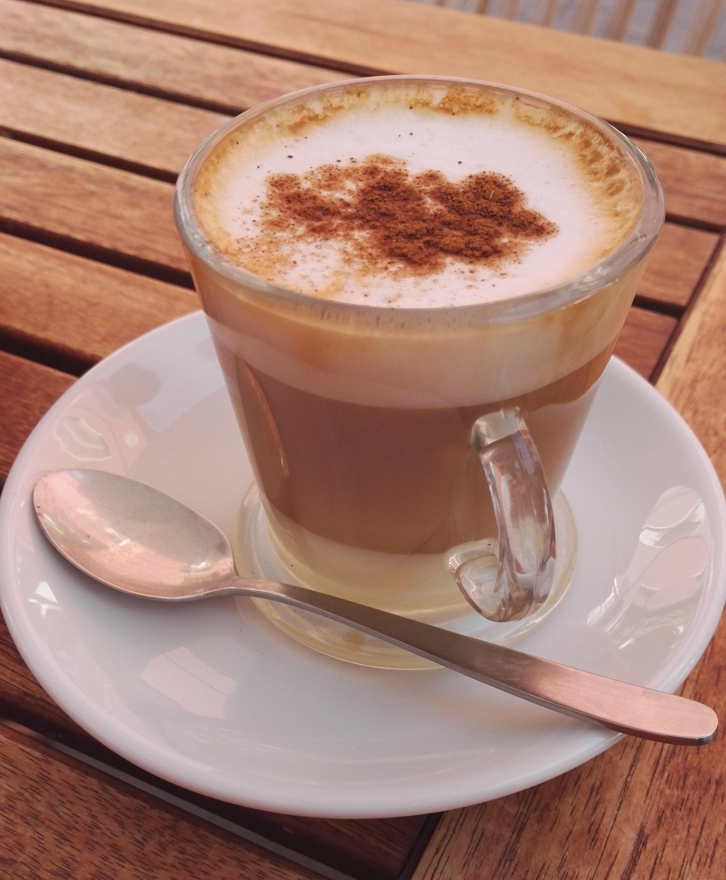Canarian coffee barraquito