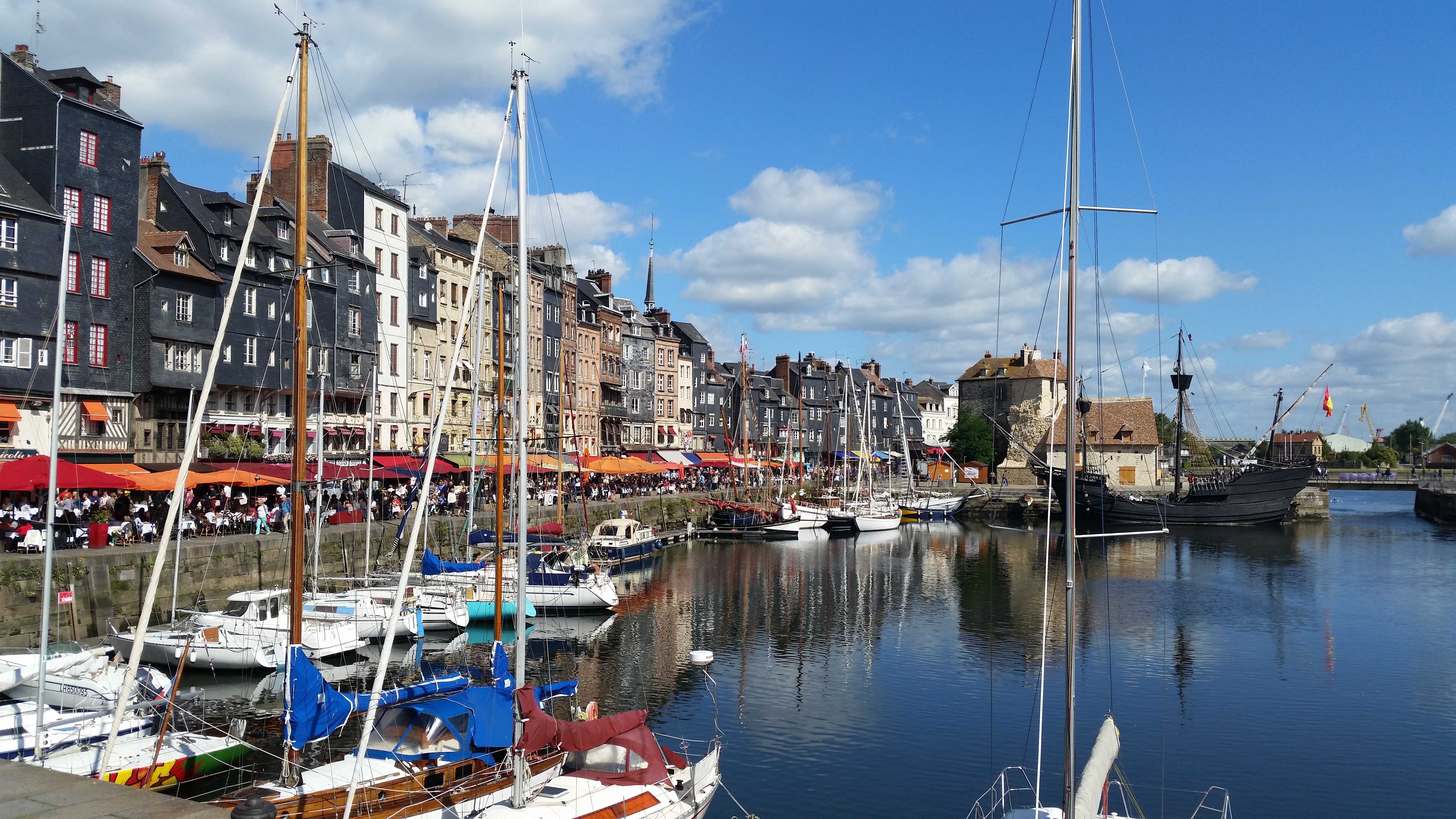 Normandy harbour