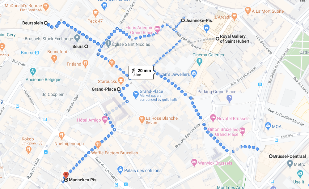 Brussels itinerary 1