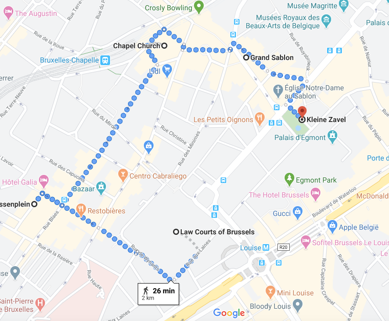 Brussels itinerary 3