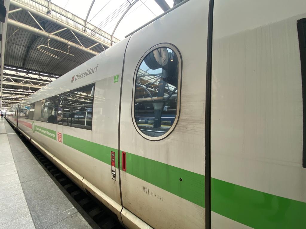 Train Travel ICE