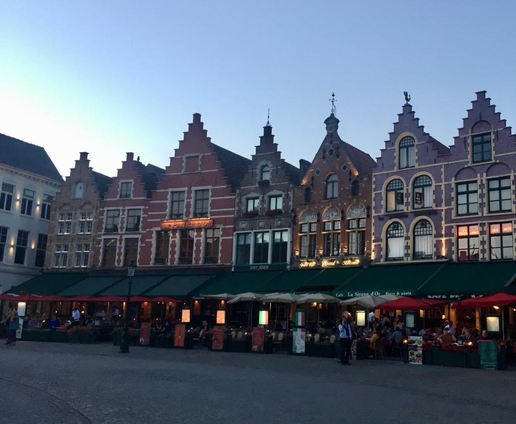 Train Travel Brugges
