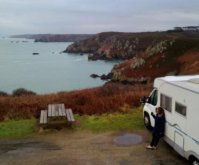 Brittany campervan
