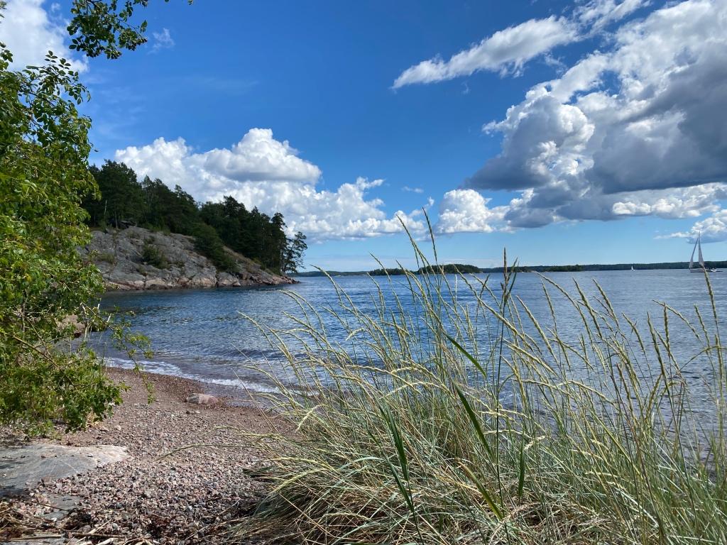 Stockholm Archipelago Grinda beach