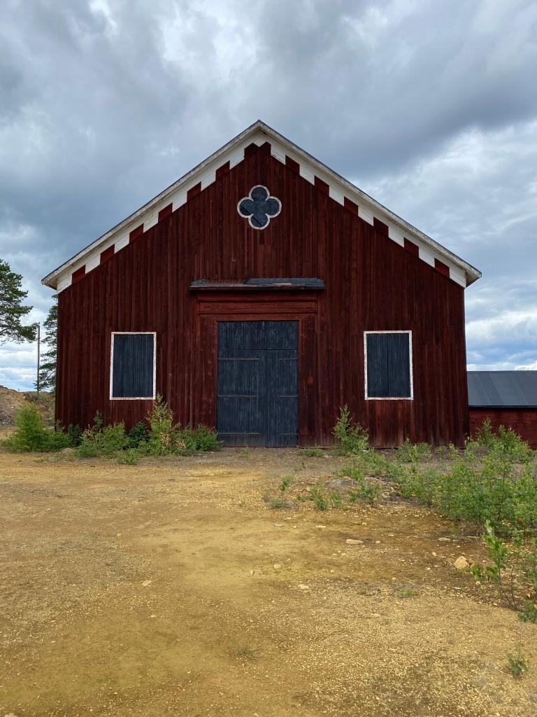 Sweden red cabin