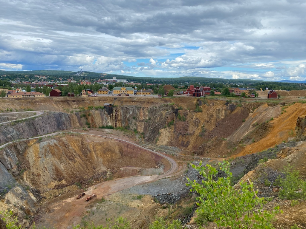 Sweden Falun Copper Mine